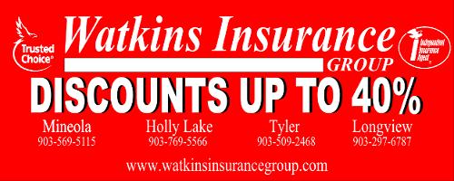 Watkins Insurance Sponsor